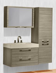 Nuvo Collection - Tempo - contemporary - bathroom vanities and sink consoles - atlanta - The Furniture Guild