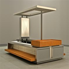 Mobile retail merchandising units created to compliment your environment and products. www.tonyhortondesign.com