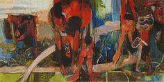 "VERITAS | Art Auctioneers | Portugal : Leilão 14 - Júlio Pomar - ""La Baignade des Enfants dans le Tutuai II"""