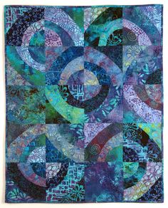 """quilts using violet analogous 