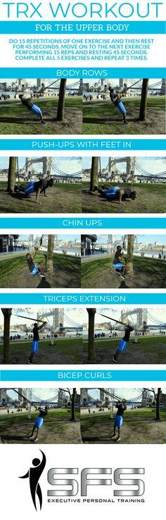 trx upper body workout