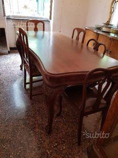 sala-da-pranzo-stile-chippendale | mobili in vendita subito. it ...