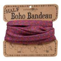 These boho bandeaus feature half the fabric and can be worn 6 different ways! Wrap around your head, neck, ponytail, wrist, or wear as a fun summer top! Tons of fun colors to choose from! Machine Wash