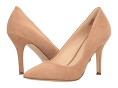 #repliKate for the Ginavito Rossi heels in praline, the Nine West Flax $55.99