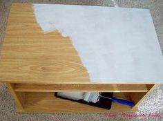 How-to Paint Laminate Furniture  @Lynne G  thank you thank you thank you!!!
