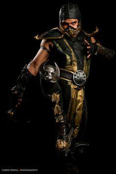 Scorpion #cosplay from Mortal Kombat