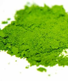 puder z zielonej herbaty
