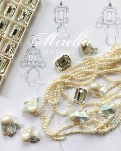 Work in Progress Tassel Bracelet, Pink Aesthetic, Girl Boss, Design Design, Sketching, Swarovski Crystals, Jewelry Design, Sparkle, Pearls