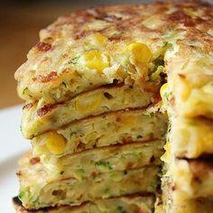 Zucchini Corn Pancakes | foodraf