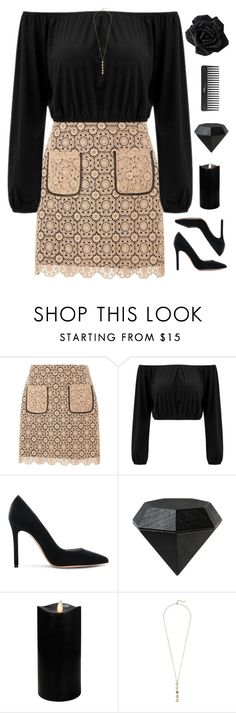 """""""Enjoy the little things"""" by genesis129 ❤ liked on Polyvore featuring Dorothy Perkins, Gianvito Rossi, Areaware, Boston Warehouse, Sephora Collection and Cole Haan"""