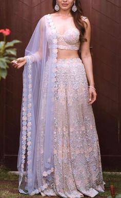 A-Line Wedding Dresses Collections Overview 36 Gorgeou… Indian Wedding Outfits, Bridal Outfits, Indian Outfits, Bridal Dresses, Indian Engagement Outfit, Indian Bridal Party, Designer Bridal Lehenga, Indian Lehenga, Lehenga Designs