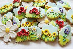 Happy Spring ~ Flower Cookies
