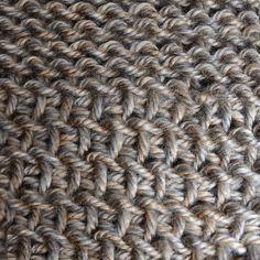 My Tunisian Crochet: Tunisian Reverse Purl Stitch (Trps)