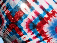 Red, White and Blue- and a little pink too!