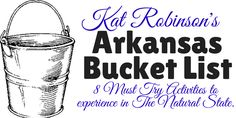 Here are the eight things on my 2015 Arkansas bucket list -- what's on yours?  #visitarkansas  Kat's Bucket List - 8 More Must-Try Things To Do in Arkansas in 2015. | Tie Dye Travels with Kat Robinson