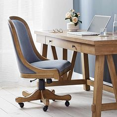 Amazon.com: Stone & Beam Home Office, Office Desk, Amazon Home, Beams, Stone, Chair, Furniture, Home Decor, Life