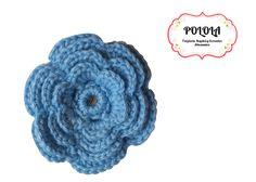 Gancho tejido para el cabello en la tecnica de crochet, trabajo artesanal hecho a mano. Ref: aga03 Crochet Hats, Floral, Flowers, Craft Work, Cows, Slip On, Ornaments, Hand Made, Hair