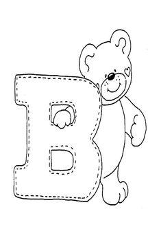 ausmalbilder Buchstaben B