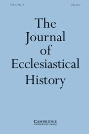 Journal of Ecclesiastical History - http://journals.cambridge.org/ech