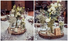 Centro de mesa - Casamento rústico