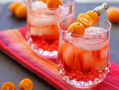 Orange and Herb Negroni