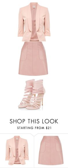 """""""pale pink"""" by zoellabae on Polyvore featuring palepink"""