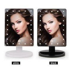 """Professional 22"""" LED Touch Screen Makeup Vanity Mirror"""