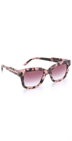 Stella McCartney Square Matte Sunglasses | SHOPBOP