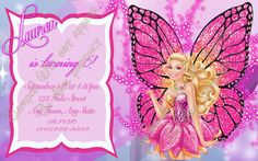 Barbie+Mariposa+and+the+fairy+Princess+Pink+by+CraftyHooves,+$10.20