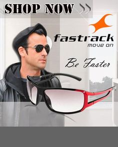 FAST TRACK SUNGLASSES :Keep the sun away the fashionable way with these sunglasses from Fastrack. Promising a 100% UV protection they are perfect for your day out in the sun and the trendy styling lends a fashionable touch to your look.