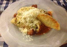 Risotto con parmesano en el restaurante italiano Il Commendatore (Barcelona)
