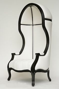 Gorgeous hooded chair- 2 please