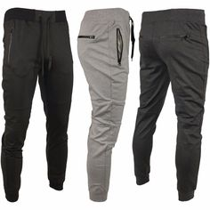 Riflessi Collection Men's Tech Fleece Side Zips Jogger Pants Bottoms #Riflessi #Jogging