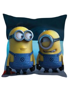 Cute Minions Cushion Cover