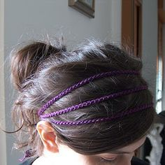 diy hippie headband