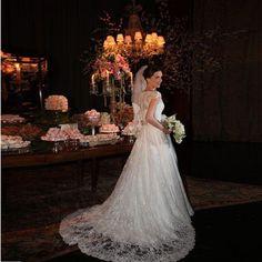 Vestido de Noiva Realeza