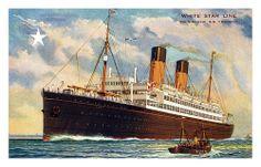 SS Doric postcard