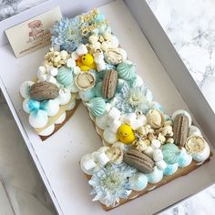 and there is no sweeter than that, around the age of a year . - baby kuchen - first birthday cake-Erster Geburtstagskuchen Number Birthday Cakes, Boys First Birthday Cake, Birthday Numbers, Cake Birthday, Birthday Gifts, Number One Cake, Number Cakes, Number 8, Cake Lettering