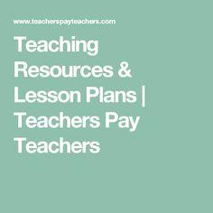 Teaching Resources & Lesson Plans   Teachers Pay Teachers