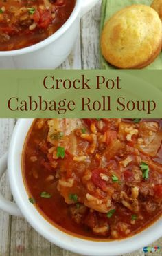 Crock Pot Cabbage Roll Soup Recipe