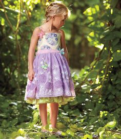 butterfly garden dress - Chasing Fireflies