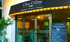 """Chez Celine - a patisserie that has """"chocolate croissants that will make you think you've died and gone to Paris"""" according to Fodor's."""