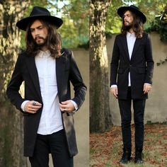 The preacher taunted me and he smiled. (by Tony Stone) http://lookbook.nu/look/4041666-The-preacher-taunted-me-and-he-smiled