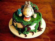 Cartoon animal cake