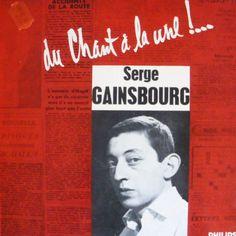 Serge Gainsbourg - Du chant à la une..!  - 25 cm - 1958