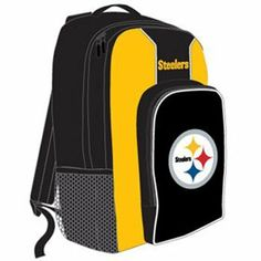 NFL Pittsburgh Steelers Southpaw Backpack, Gold by Concept 1. $19.99. NFL Team Color Backpack