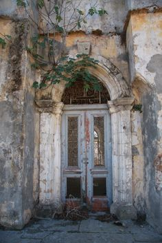 Abandoned building in Cyprus