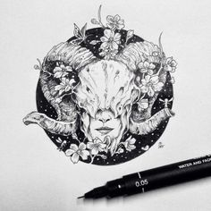 Ram skull - tattoo idea