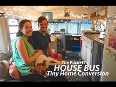 Gorgeous Tiny House Bus Conversion- Full Tour w/The Puckett's! - YouTube