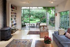 אתגר עיצובי: שני בתים הופכים לאחד | בניין ודיור
